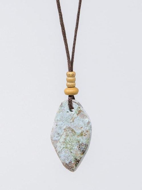 Rustic Larimar Necklace