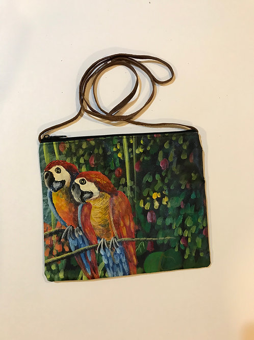 Hand-painted Handbag