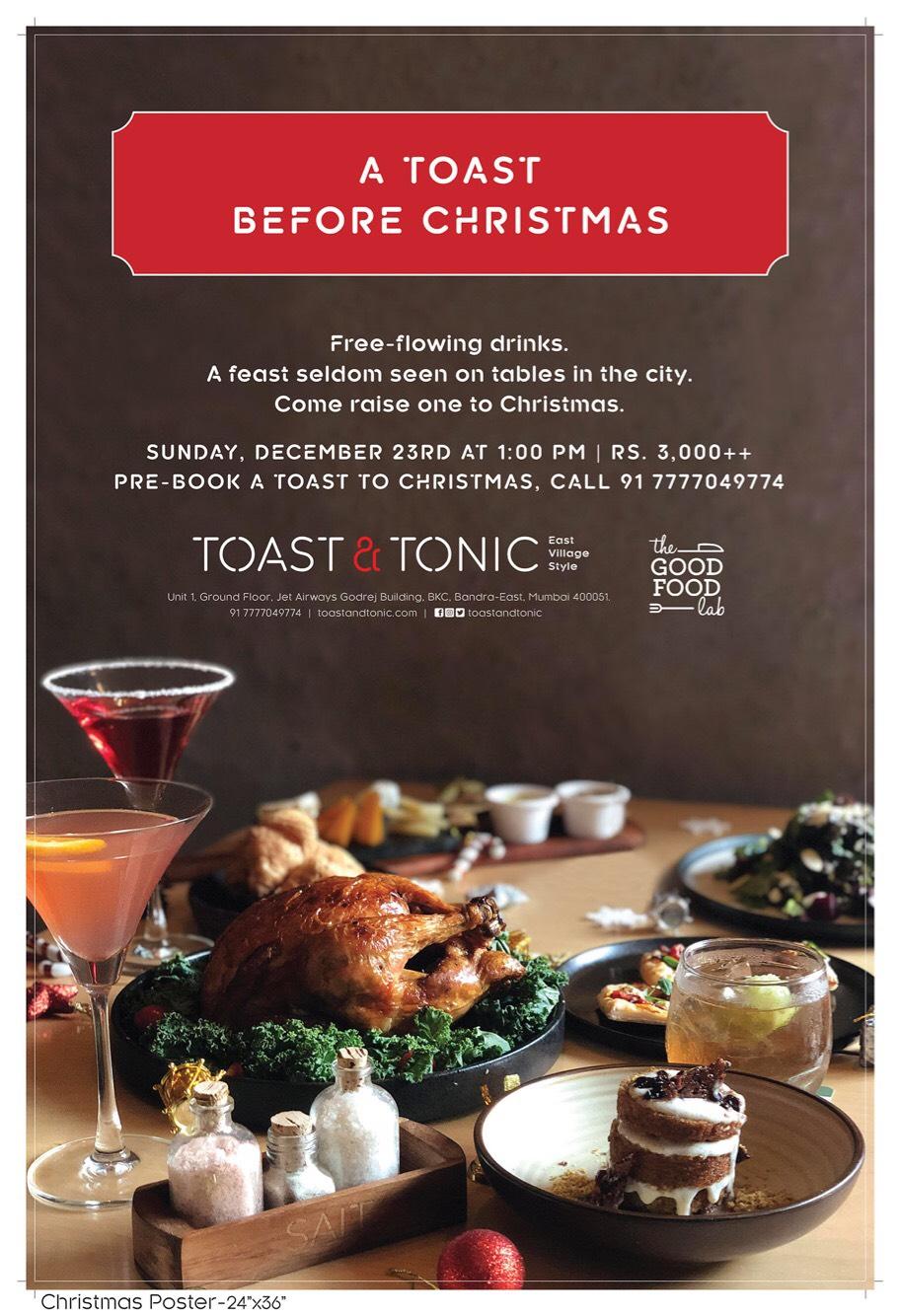 Toast & Tonic Christmas Feast