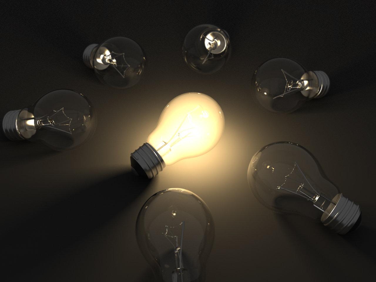 Anello di lampadine