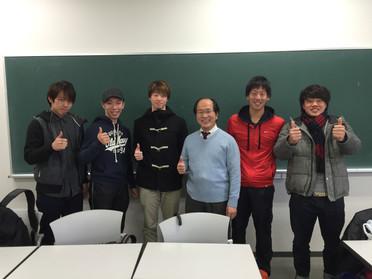 2016年度田畑ゼミ 懇談会&TV取材