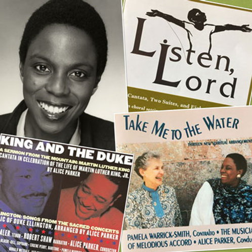 Three CDs featuring Pamela Warrick-Smith