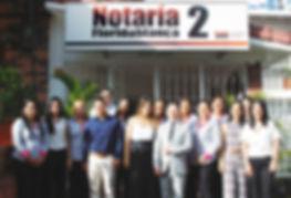Ubicación Notaria Segunda de Floridablanca