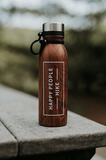 """Wood you look at that"" Water Bottle"