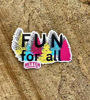 Fun For All Park Fundraiser Sticker #1
