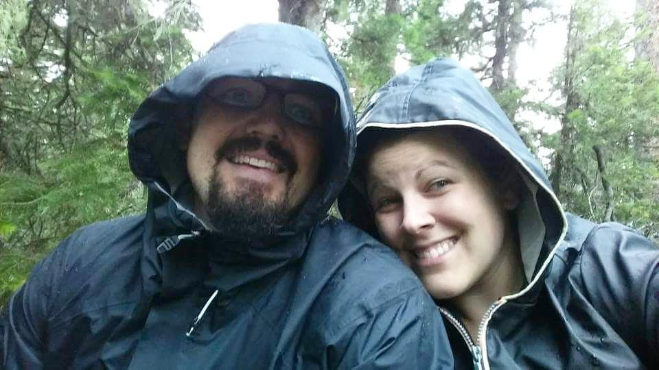 Hiking in a Hail Storm