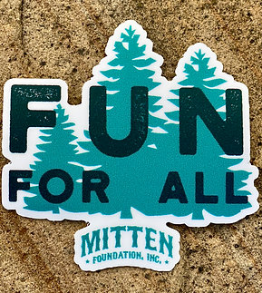 Fun For All Park Fundraiser Sticker #2
