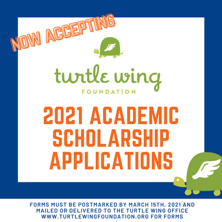 Deadline for Turtle Wing Foundation Academic Scholarships Approaching