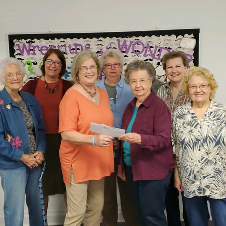 WELCA Gathering Donates to Turtle Wing Foundation
