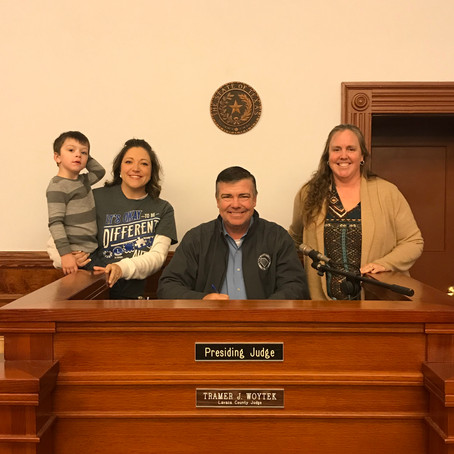 Fayette, Lavaca and Colorado Counties Proclaimed April as Autism Awareness Month