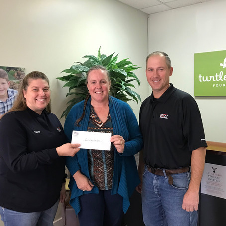 DCP Midstream Donates to Turtle Wing Foundation