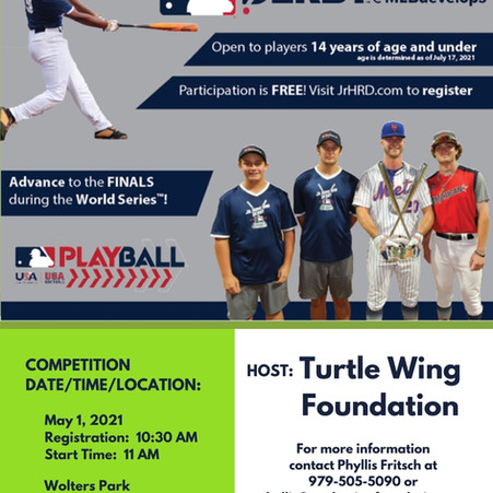 Turtle Wing Foundation to Host a MLB Jr. Home Run Derby