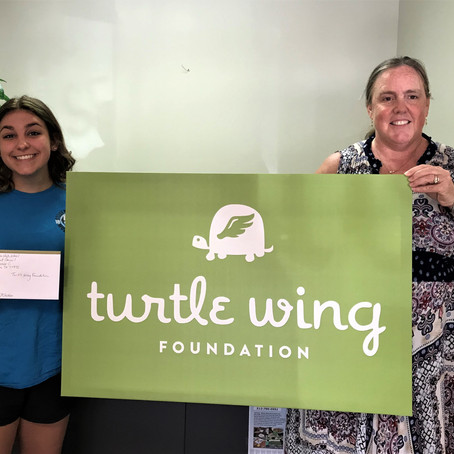 Moulton High School Student Council Donates to Turtle Wing Foundation