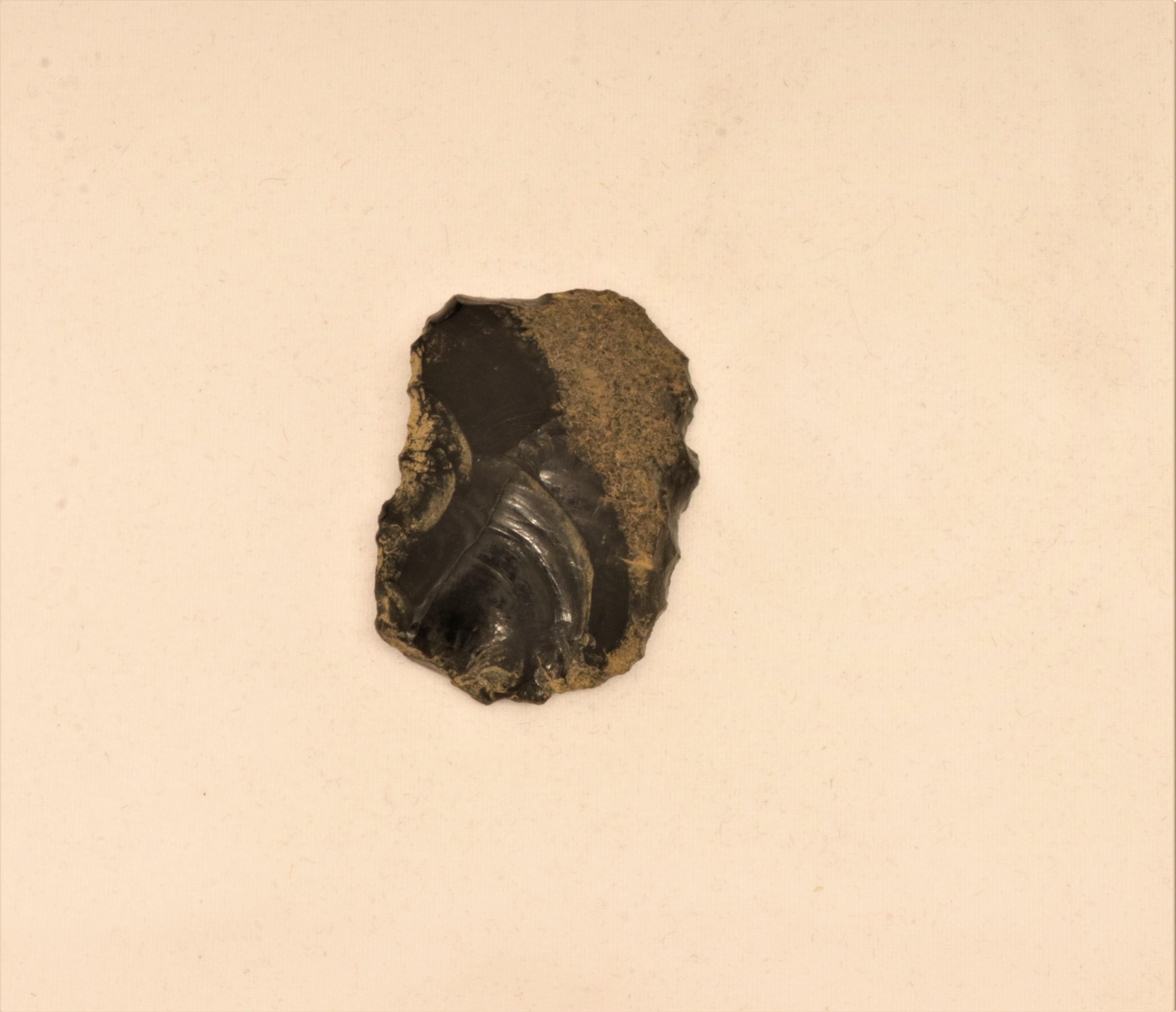 Raspador de obsidiana
