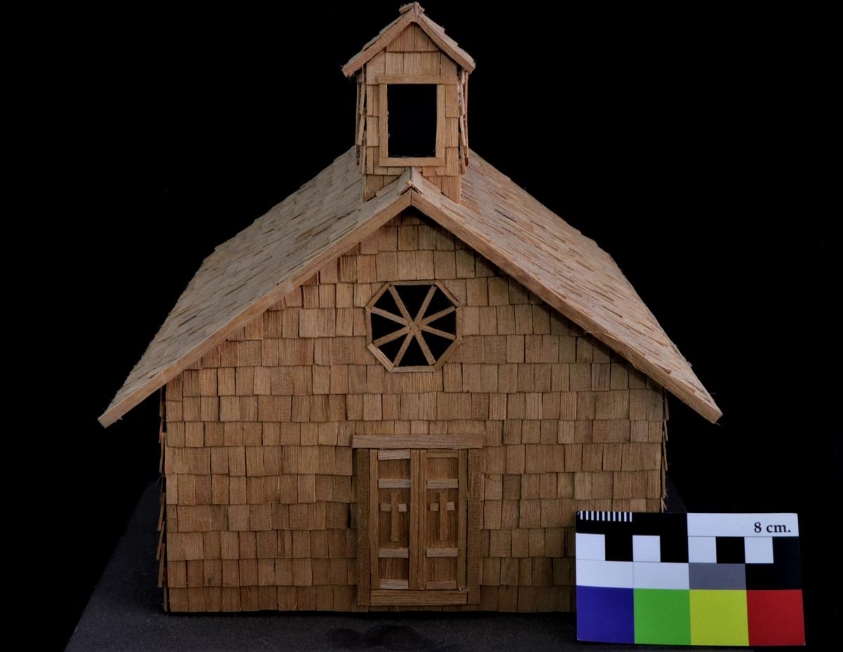 Maqueta de la Iglesia de Melinka