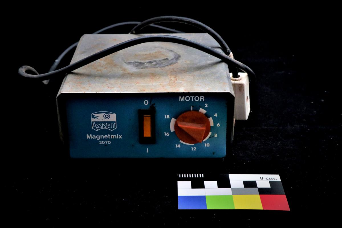 Agitador magnético de laboratorio
