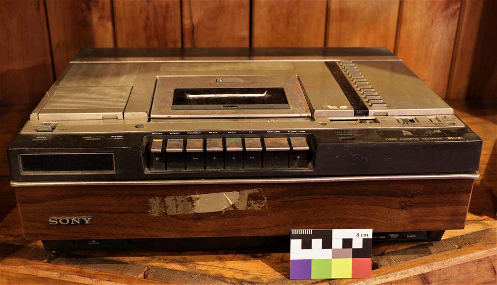 Reproductor y videograbadora Betamax