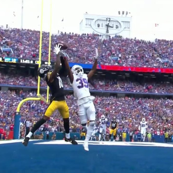 Diontae Johnson makes jaw-dropping touchdown catch