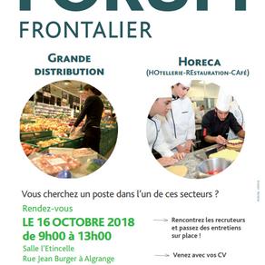 🗓️16/10/18 - Forum Grande Distribution Frontalier - ALGRANGE