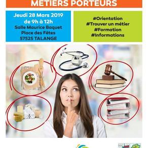 🗓️28/03/19 - Forum Orientation Formation et Métiers Porteurs - TALANGE