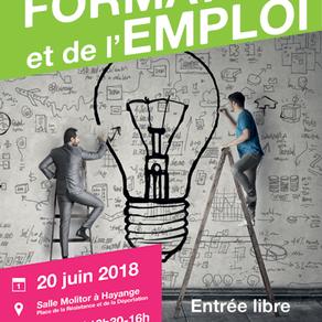 🗓️20/06/18 - SALON DE LA FORMATION ET DE L'EMPLOI - Hayange