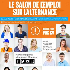 🗓️07/06/18 - SALON DE L'EMPLOI SUR L'ALTERNANCE - Maizières-lès-Metz