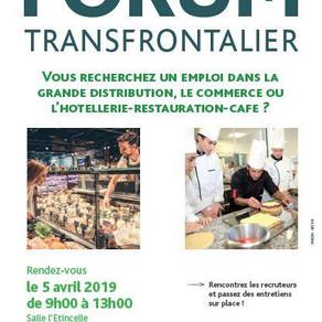 🗓️05/04/19 - Forum Tranfrontalier  - ALGRANGE