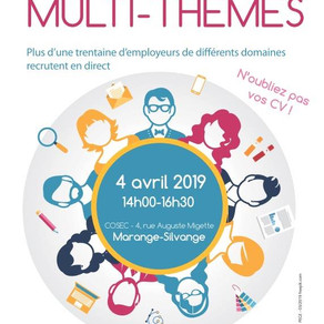 🗓️04/04/19 - Forum MULTI-THEMES - MARANGE-SILVANGE