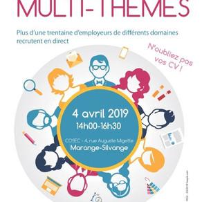 🗓️04/04/19 - Forum MULTI-THEMES - MARANGE-SILVANGE