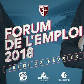 🗓️22/02/18 - Forum de l'emploi - Saint-Symphorien