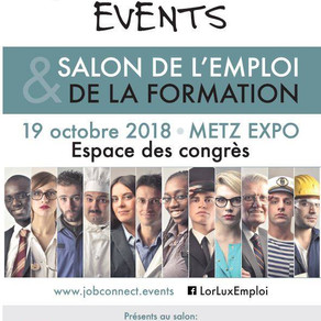 🗓️19/10/18 - Salon de l'Emploi et de la Formation - METZ EXPO #jobconnectevents