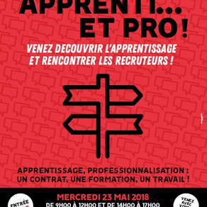 🗓️23/05/18 - Forum APPRENTI...ET PRO - NANCY