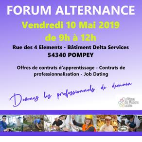 🗓️10/05/19 - Forum Alternance - POMPEY