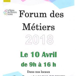 🗓️10/04/18 - Forum des Métiers - BRIEY