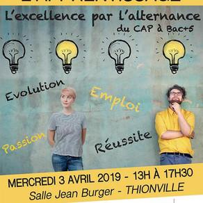 🗓️03/04/19 - 4ème Salon de l'Apprentissage - Thionville