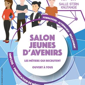 🗓️07/02/18 - Salon Jeunes d'Avenirs - Des métiers qui recrutent - Knutange