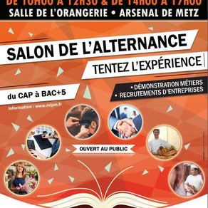 🗓️06/06/19 - Salon de l'alternance - ARSENAL DE METZ