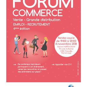 🗓️08/11/18 - FORUM COMMERCE Vente/Grande distribution -THIONVILLE