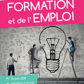 🗓️12/06/19 - Salon de la FORMATION et de l'EMPLOI - HAYANGE