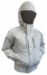 剛肩タチエリフードA(フード使用時)