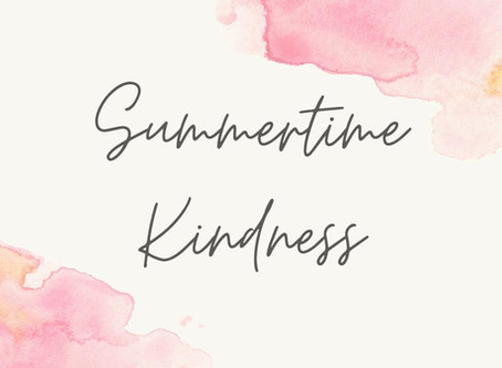 Summertime Kindness: Fundraising Initiatives