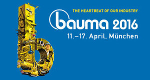 bauma2016出展致します。