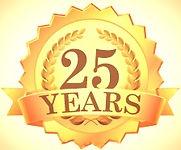 25 Year Logo