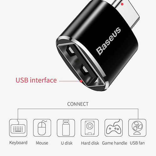 Adaptateur USB type-c OTG vers USB