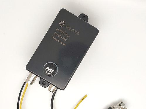 Switch-box 24v | Gestion de camera de recul : BUS, PL