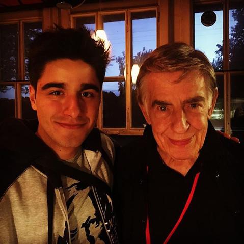 With Rolf Kühn