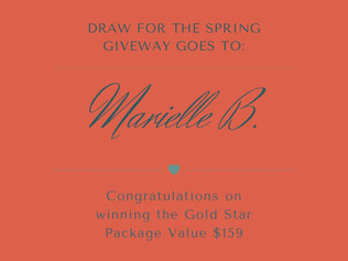 Spring Give-away