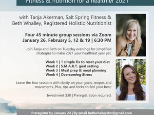 Weekly Wellness starts Jan 26 2021