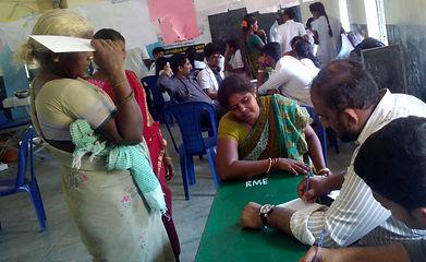 Medical Camp- Ramapuram Village, 12th Ma