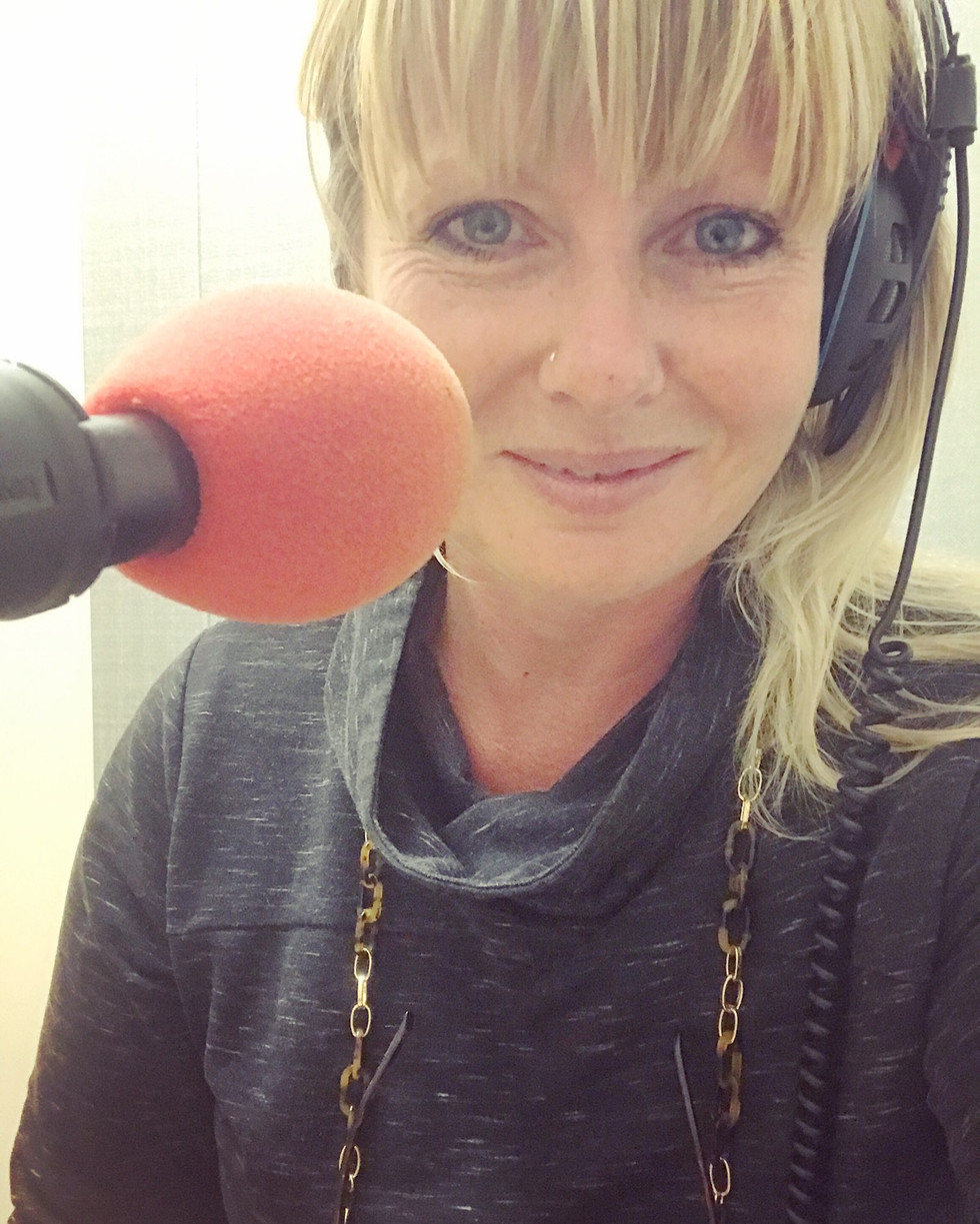 A face for radio!